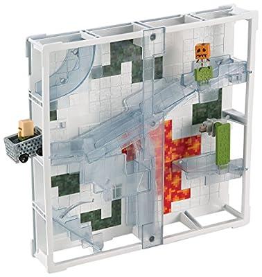 Minecraft Hotwheels Track Blocks Glacier Slide Playset