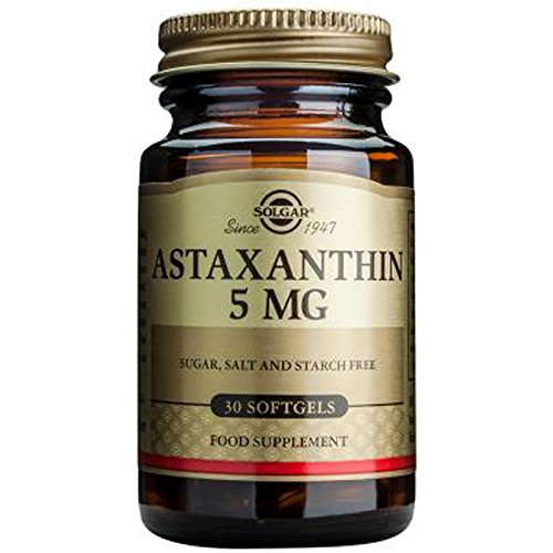 Amazon.com: Solgar, Astaxanthin 5 mg, 60 Softgels: Health & Personal Care