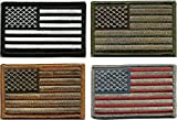 Prohouse Bundle  - Tactical USA Flag Patches - Multi-colored by TMTC ...