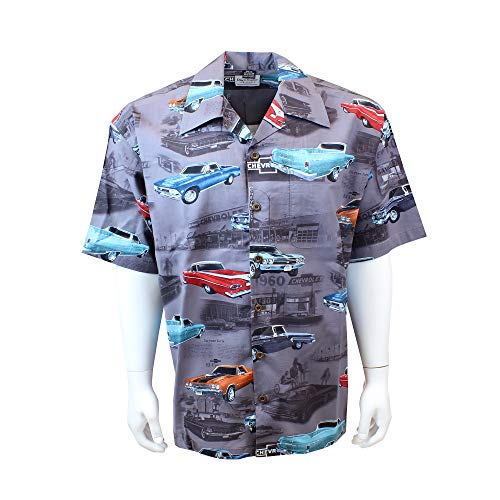 David Carey Originals El Camino Camp Shirt, L