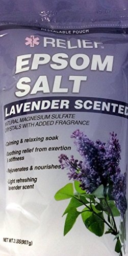Price comparison product image Lavender Scented Epson Salt - 2 Pound Bag