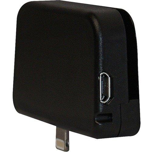 ID Technologies IDMR-AL30133 iMag Pro II Mobile MagStripe Reader, Lightning Connector, Black