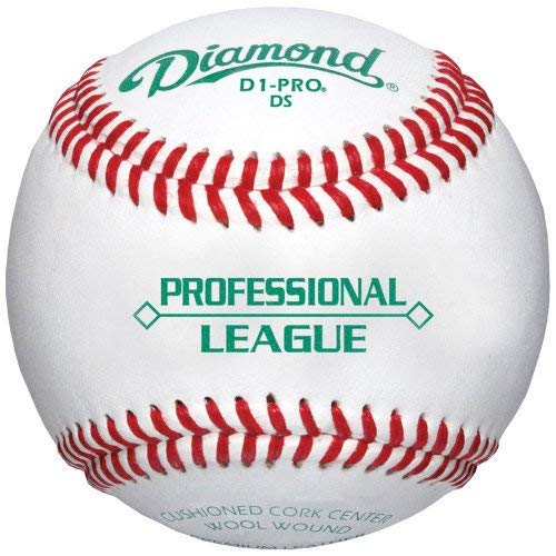 Diamond D1-Pro Professional League Leather Baseballs 12 Ball Pack