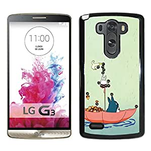 Beautiful Designed Cover Case For LG G3 With My Neighbor Totoro 1 Black Phone Case
