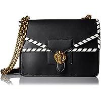 Anne Klein Diana Large Double Flap Chain Bag