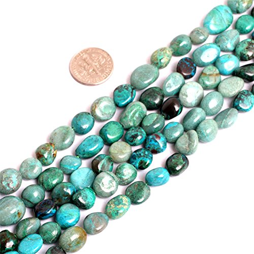 Natural Potato Shape Africa Turquoise Gemstone Loose Beads In Bulk For Jewelry Making Wholesale Beads One Strand 15 1/2