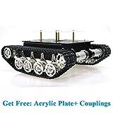 SZDoit Shock Absorption Robot Tank Car Chassis Kit for Arduino Raspberry Pi DIY STEM Education Platform