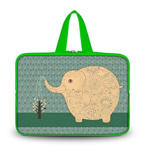 "OHS15-014 New Fashion Arts Design colorful Elephant 14.5""..."