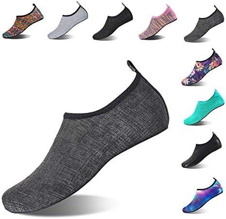 کفش های آبی HMIYA Aqua Socks Beach Water کفش جوراب پابرهنه یوگا کفش خشک و سریع خشک برای زنان