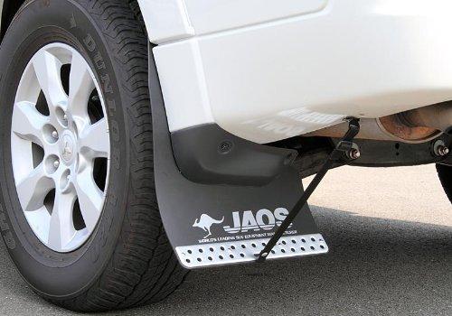 ジャオス(JAOS) JAOS マッドガードIII リヤセット ブラック パジェロ V80/90系 MUD GUARD3 BLACK REAR PAJERO/MONTERO 06+ 【年式: 06.10-】 【適応: ALL】 B622328R B00F4NY84W