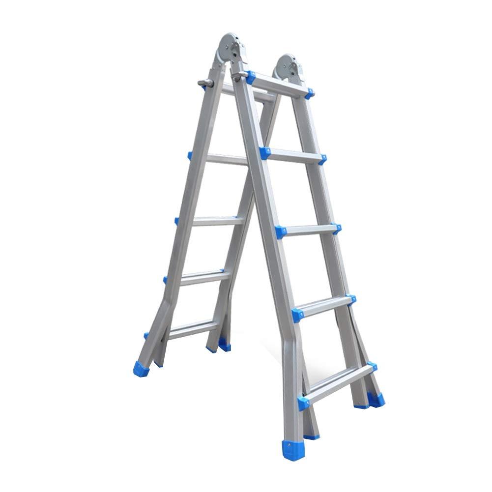 Amazon.com: ZHAOYONGLI - Escalera plegable multifunción ...