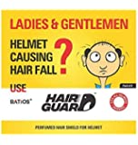 Batios Hair Guard - Perfumed Hair Shield For Helmet (Pack of 6)