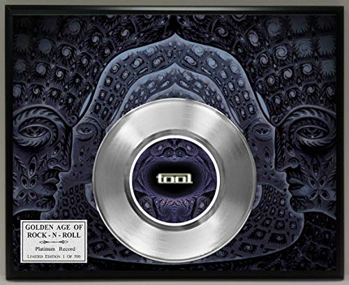 G.A.R.R. Tool Band Platinum Record Poster Art Limited Edition Commemorative Music Memorabilia Display ()