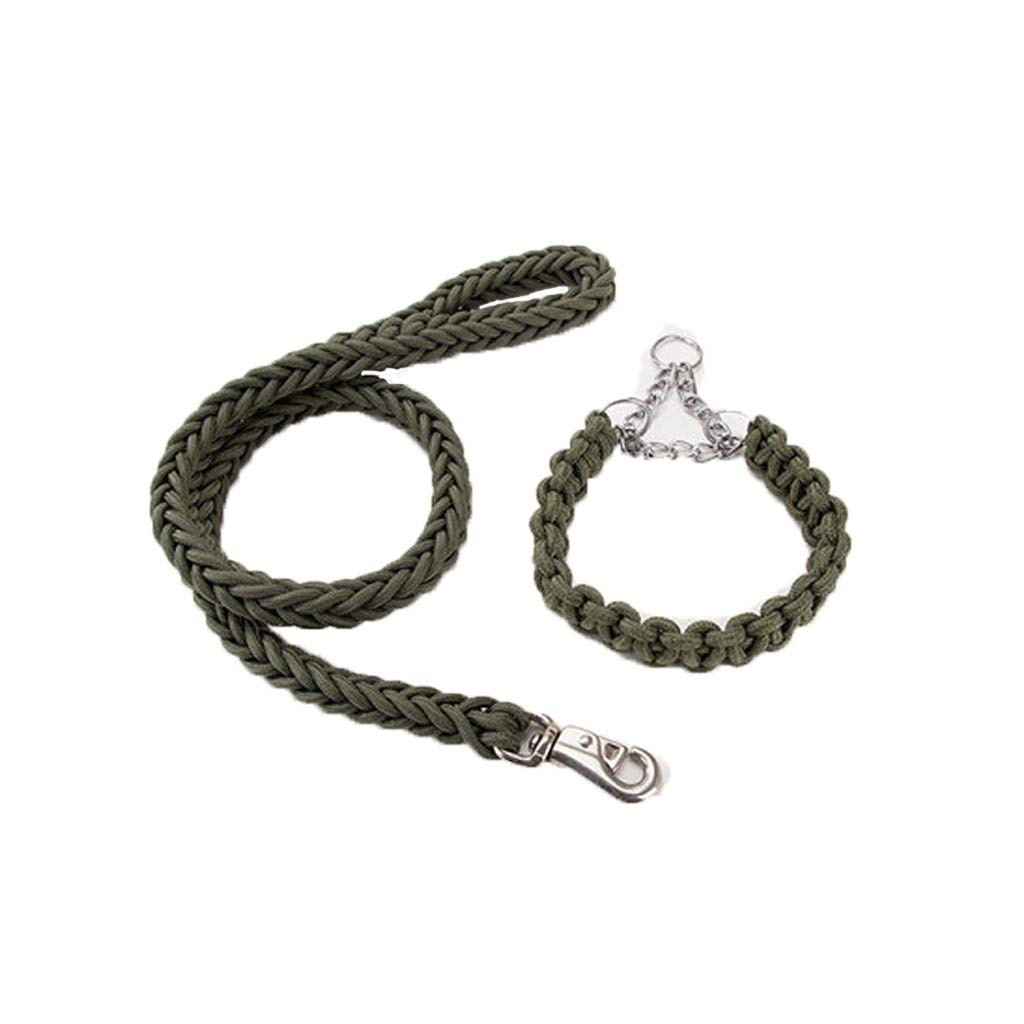 LLSDLS Pet Traction Rope Chest Strap Dog.Nylon Dog Leads,Soft Slip Lead Traction Rope for Small