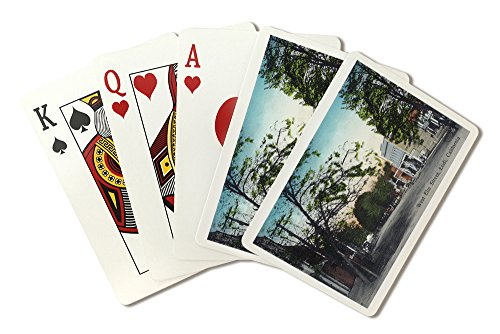 Lodi  California   View Of West Elm Street  Playing Card Deck   52 Card Poker Size With Jokers