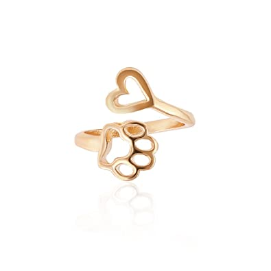 1edb926bc106d CHOA Always by My Heart Adjustable Ring Animal Beloved Pet Ring ...