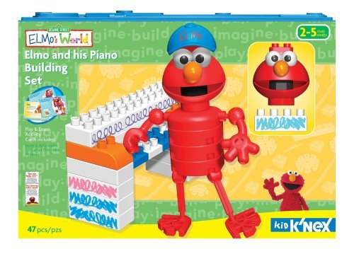 Knex Kid Elmo Piano Set - Kid Knex Elmo