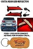 Rear Bumper Led Reflector Drl For Hyundai Creta