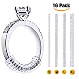 Arts & Crafts : Vetoo Invisible Ring Size Adjuster for Loose Rings - Clear Ring Sizer, Ring Guard, 4 Sizes Fit for Any Rings, Pack of 16(1.2mm/2mm/3mm/4mm)