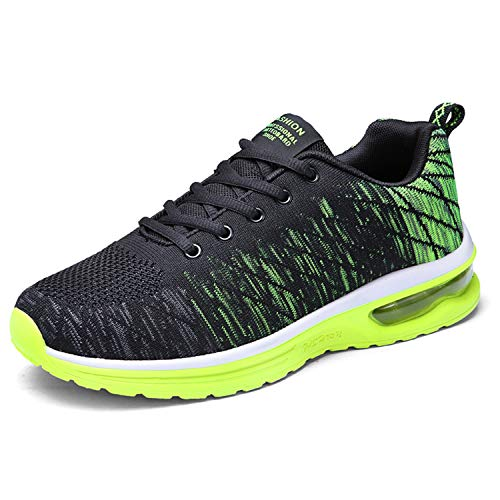 De Hommes Basket Gym Sports Running Course Tqgold® Schwarz Grün Fitness Femme Sneakers Chaussures Mode IqzEBdw