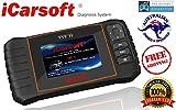 iCarsoft TYT II OBDII diagnostic tool for Toyota/Lexus/Scion/Isuzu multi systems, Oil SRS ABS Engine