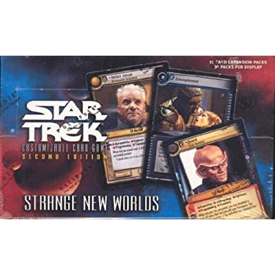 Star Trek 2nd Edition Strange New Worlds Booster Box: Toys & Games
