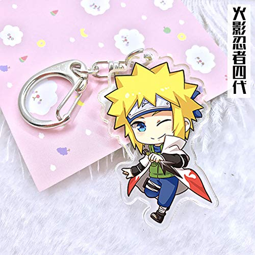 Amazon.com : Key Chains - Naruto Hokage Anime Acrylic ...