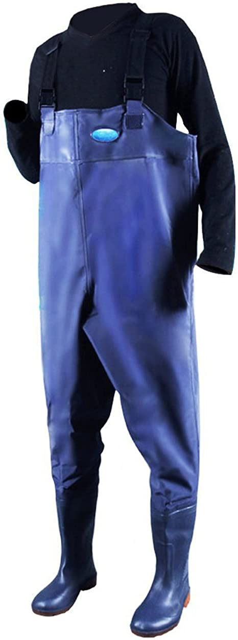 Fishing Waders Wading Trousers Chest Work Waterproof Adult Pants Overall Boot