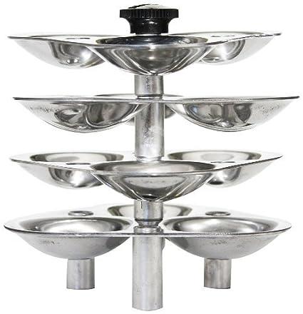 Hawkins Mini Idli Stand for Pressure Cooker, 3-Litre, Silver