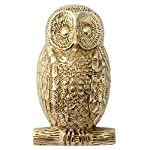 Solid Brass Owl Door Knocker by Heritage Casting