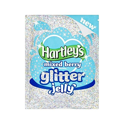 Glitter Jelly - Hartley's Mixed Berry Glitter Crystal Jelly 100g - Pack of 2