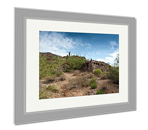 Ashley Framed Prints Gates Pass Ii, Wall Art Home Decoration, Color, 30x35 (frame size), Silver Frame, - The Hut Tucson