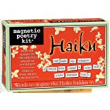 Magnetic Poetry - Haiku Kit - Words for Refrigerator - Write Poems and Letters on the Fridge