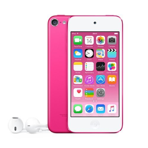 Apple iPod Touch 32GB Pink (6th Generation) MKHQ2LL/A (Renewed) (Ipod Touch 32 Pink)
