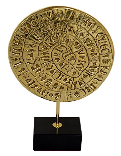 - Talos Artifacts Phaistos disc sculpture museum reproduction - Palace of Knossos - Minoan period