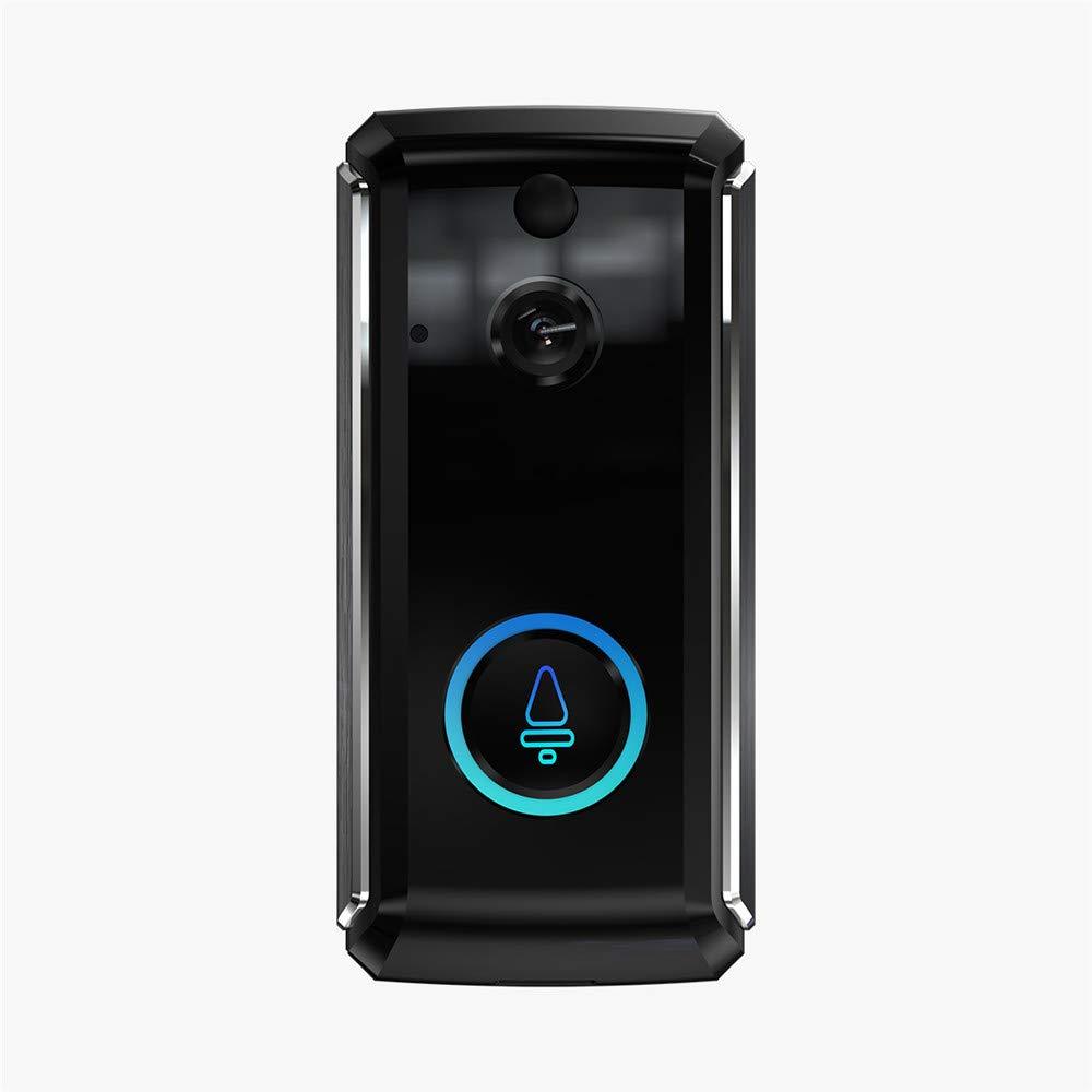 QUARK Video-Türklingel, Smarte Türklingel 720P HD-WiFi-Sicherheitskamera, Echtzeit-Zwei-Wege-Talk Und Video, Nachtsicht, PIR-Bewegungserkennung