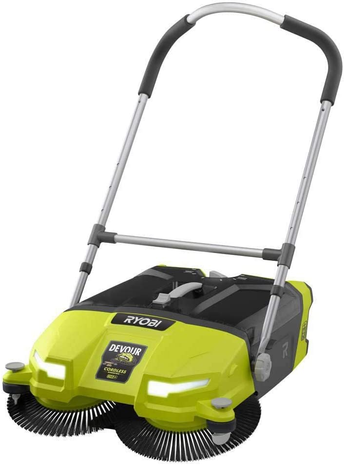 Amazon Com Ryobi 18 Volt One 4 5 Gal Devour Debris Sweeper Tool Only Home Kitchen