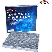 POTAUTO MAP 1009C Heavy Activated Carbon Car Cabin Air Filter Replacement compatible with CHEVROLET, Cobalt, HHR, PONTIAC, G5, Pursuit, SATURN, Ion
