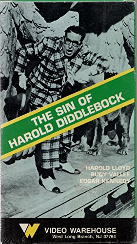 The Sin of Harold Diddlebock [VHS]
