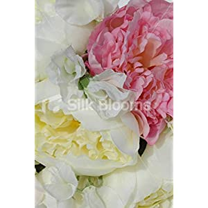 Fresh Touch Peony & Sweetpea Bridesmaid Bouquet in Ivory & Pink 2