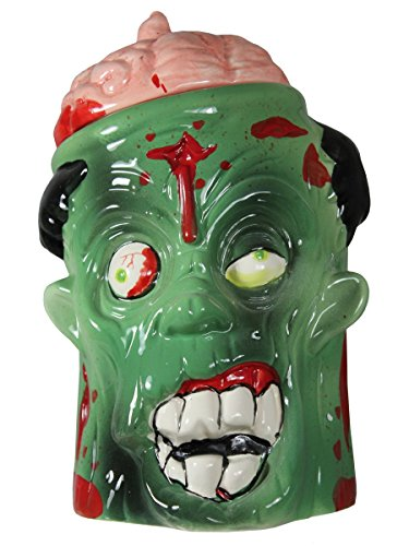 zombie head cookie jar - 2