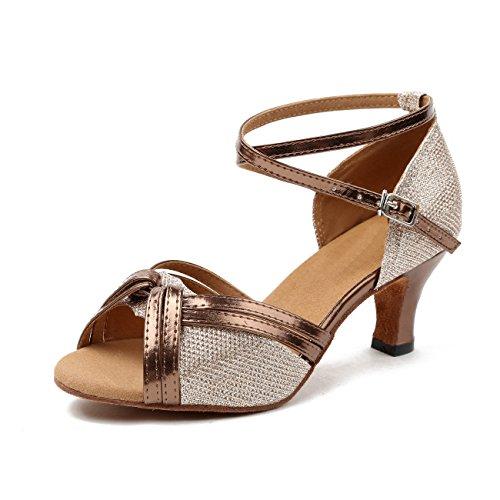 Minitoo - salón mujer Champagne-6cm Heel