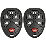 Keyless2Go Remote Keyless Entry Car Key Fob Replacement for GM Vehicles KOBGT04A 15114376 - 2 Pack