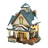 Department 56 New England Village Spirit of '76 Root Beer Lit House, 6.5 inch