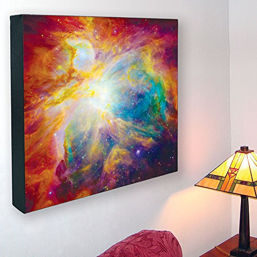 Hubble Image Canvas Print: Spitzer Colorful Masterpiece - 16 In. X 16 In.