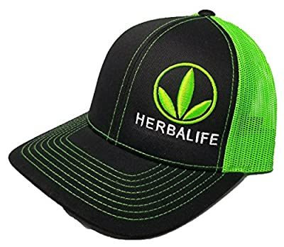 Richardson 3D Puff Herbalife 24FIT Hat Cap Snapback Adjustable Adult Unisex