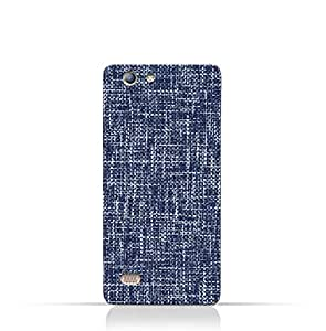 AMC Design Infinix Hot 3 X554 TPU Silicone Case with Brushed Chambray Pattern