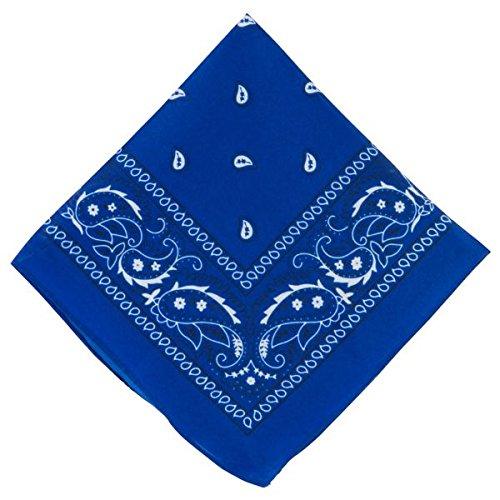 Amscan Bandana, Party Accessory, Blue