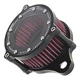 Motorcycle Black See-Thru Air Cleaner Kit Intake Filter For Harley Sportster 1200 XL 883 XR1200