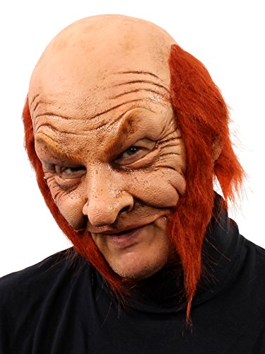 Scary Leprechaun Costumes - ZAGONE Leprechaun Half Mask w/